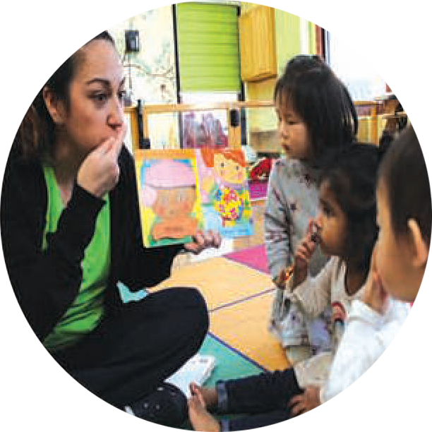 Language - Toddler Programme - Montessori Preschool Altadena CA