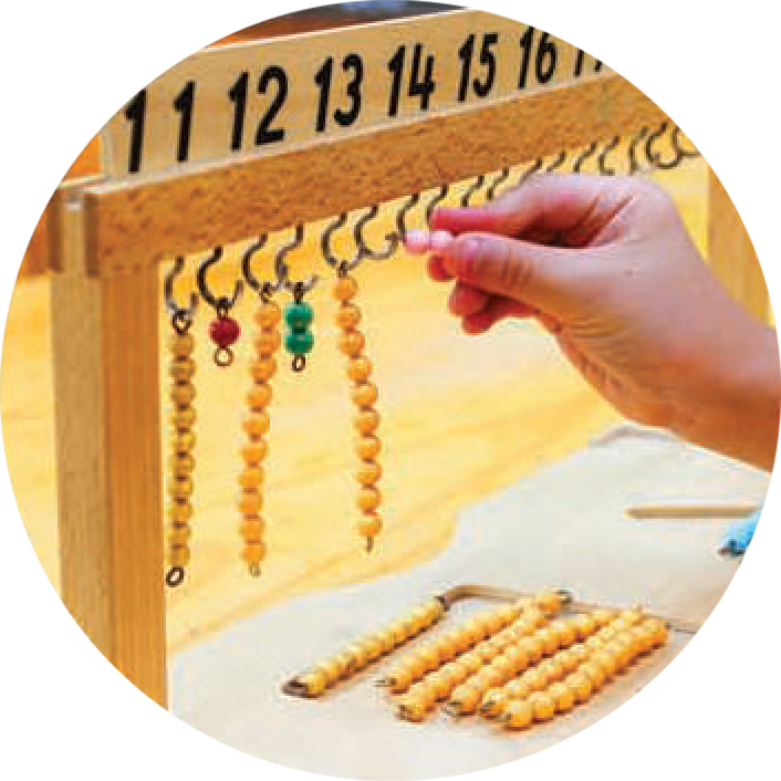 Mathematics - Primary - Montessori Preschool Pasadena CA
